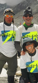david walking for whizz kidz